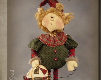 "Pattern: Sassafrass (Xmas) - 18"" Christmas Elf"