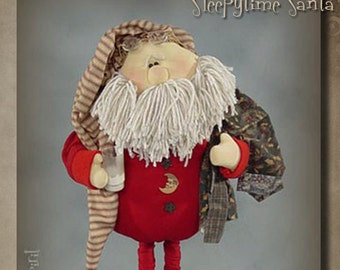 "Pattern: Sleepytime Santa - 21"" Santa"