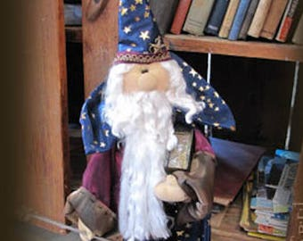 "Doll Kit: ""Winston""  Wizard  for doll pattern by Sparkles n Spirit"