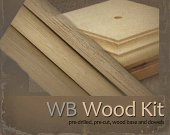 WB-52: Woodkit for Sparkles n Spirit Doll Patterns