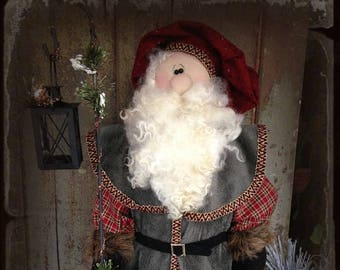 "Doll Kit: ""Klaus"" - 30"" Santa  for doll pattern by Sparkles n Spirit"