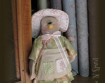 "Pattern: Granny Finch - 3"" Spring Lady Bird"