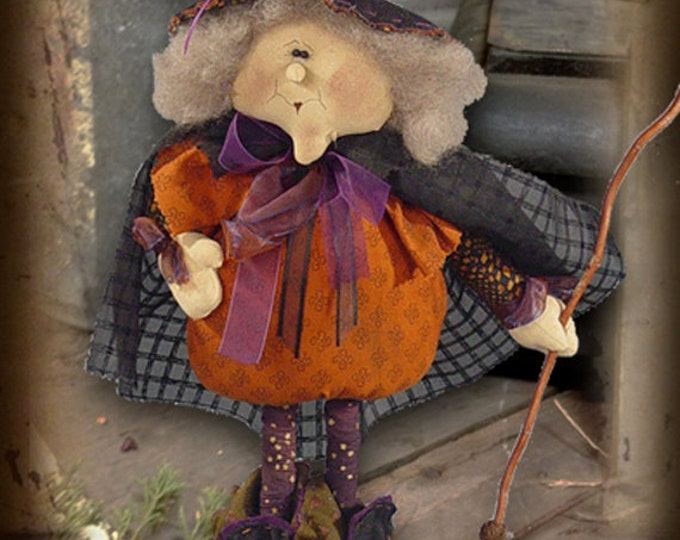 "Featured listing image: Doll KIT: Wanda - 20"" Witch"