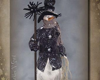 """Doll KIT: Chadwick - a 26"""" Snowman"""