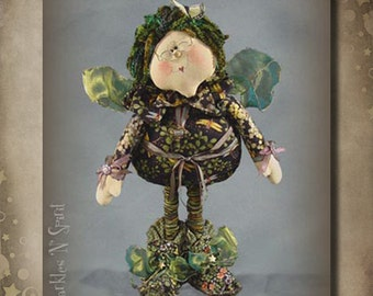 "Pattern: Ms Jillian - 22"" Irish Fairy"