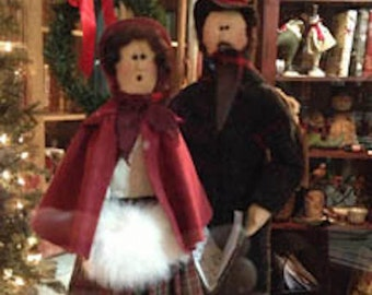 Pattern: Carolers - Set of 2 patterns