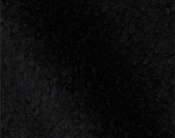 SALE!! Black Fleece: 1 Yard