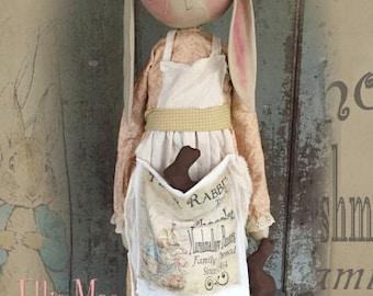 "Pattern: Ellie Mae - 32"" Standing Bunny"