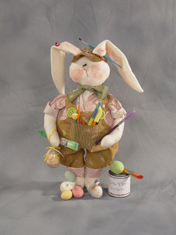 "Pattern: Jaxon - 22"" Bunny"