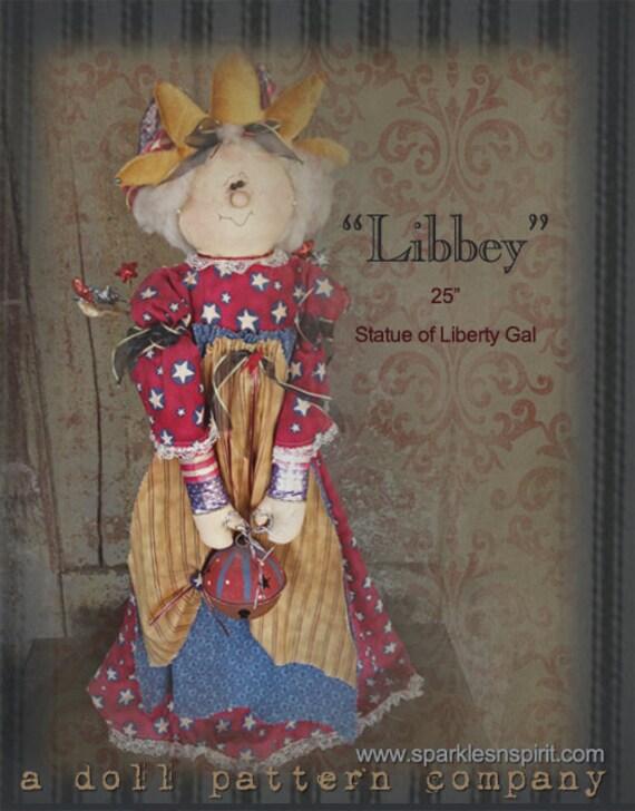 "Pattern: Libbey - 24"" Americana Girl"