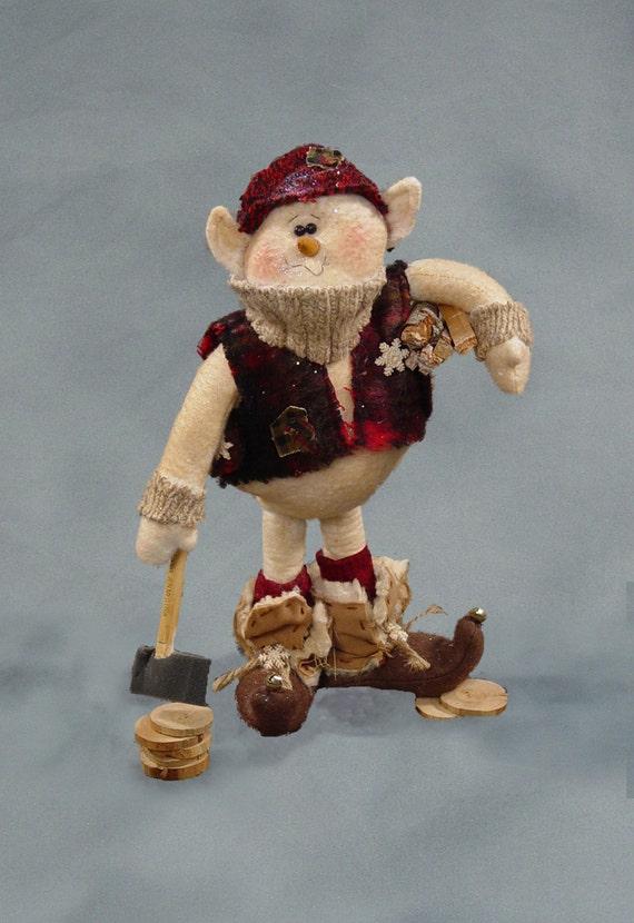 "Pattern: Sven Snelf - 12"" Snowman Elf"