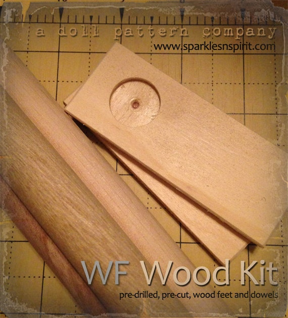 WF-35 : Woodkit for Sparkles n Spirit Doll Patterns