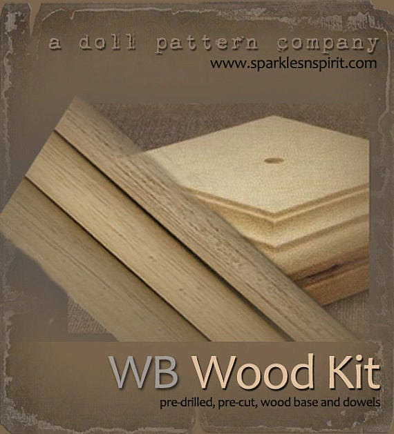 WB-40 : Woodkit for Sparkles n Spirit Doll Patterns