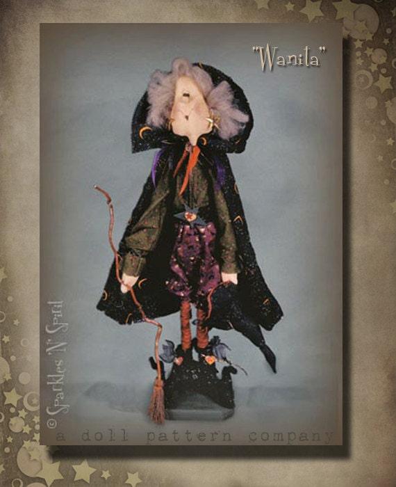 """Pattern: Wanita - 30"""" Witch"""