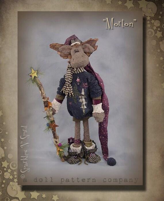 """Pattern: Morton - 28"""" Woodland Moose"""