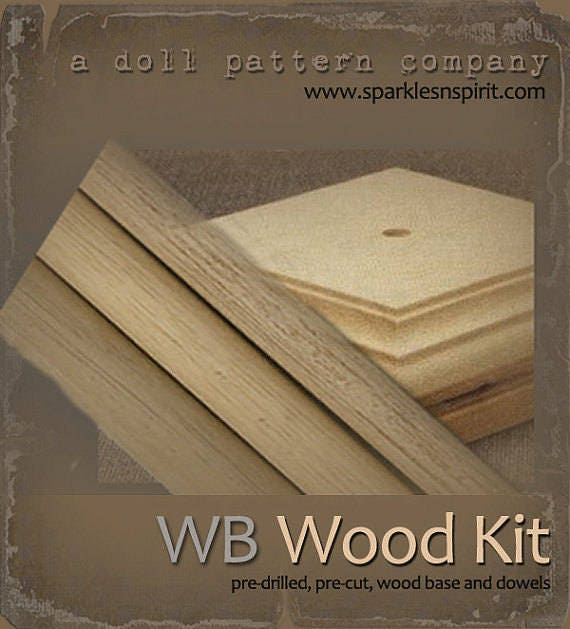 WB-18 : Woodkit for Sparkles n Spirit Doll Patterns