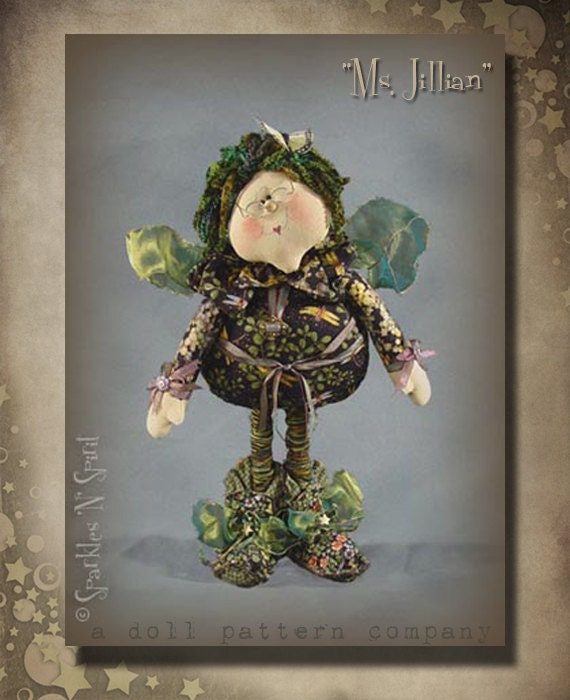 """Pattern: Ms Jillian - 22"""" Irish Fairy"""
