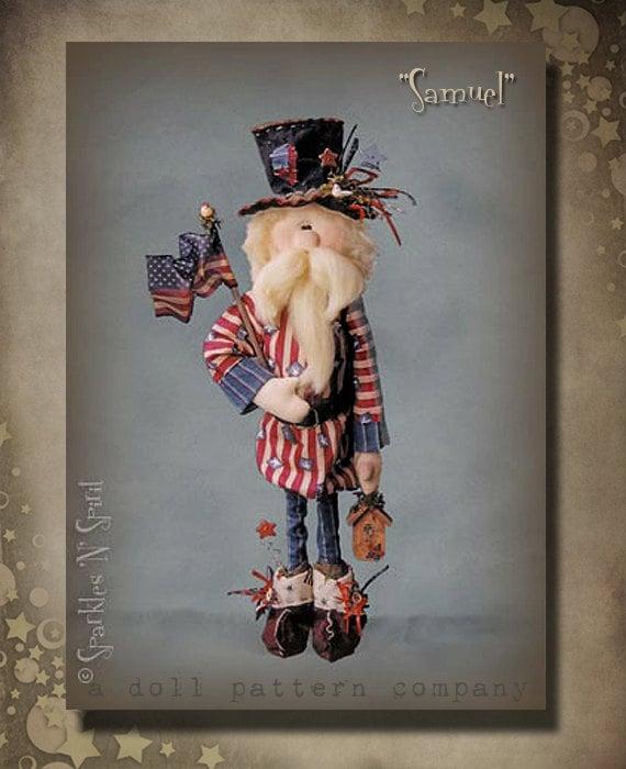 "Pattern: Samuel - 23"" Uncle Sam"