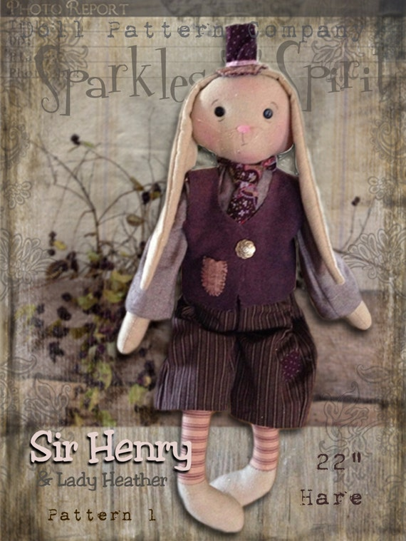 "Pattern: Sir Henry - 20"" Hare"