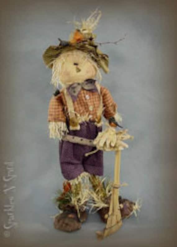 "Pattern: Bradley - 22"" Scarecrow"