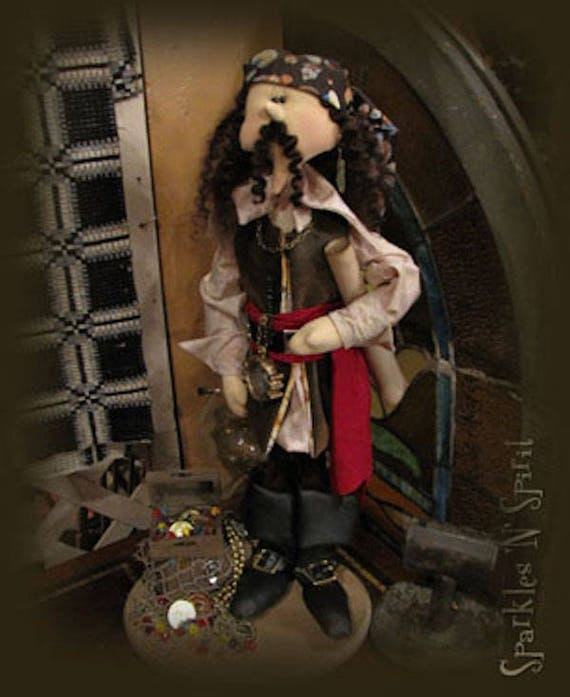 """Doll Kit: Miguel - 26"""" Pirate"""