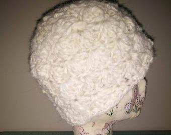 Alpaca Yarn Beanie
