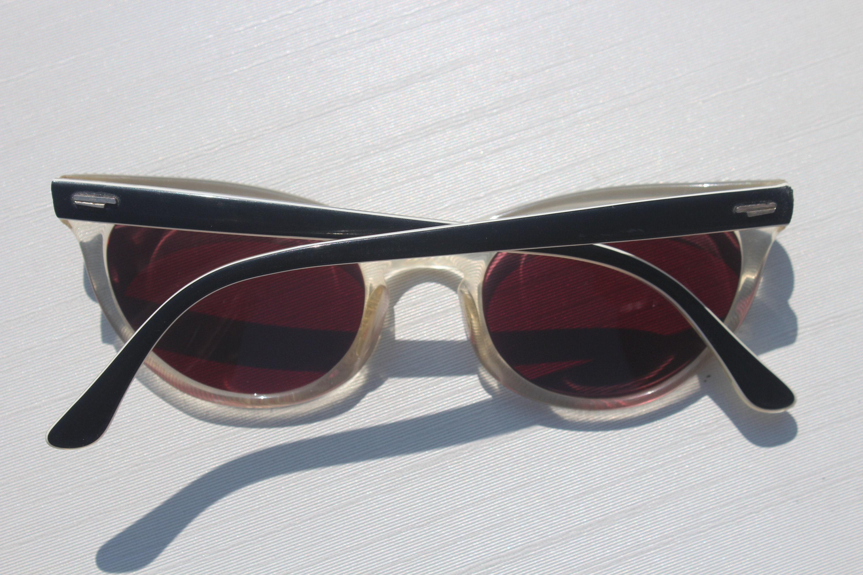1950s 60s Vintage Mid Century Retro gafas de sol gafas de sol