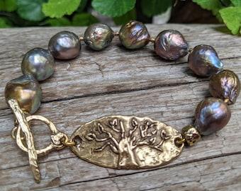 Leather Wrap Bracelet Chunky Bracelet Baltic Amber Bracelet Boho Bracelet Chrysoprase Bracelet Gemstone Bracelet Artisan Bracelet
