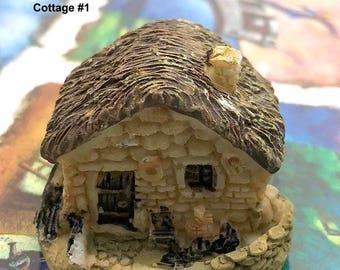 Cottage House - You CHOOSE - Miniature Garden Plants Terrarium Doll House Ornament Fairy Decoration  CH011618