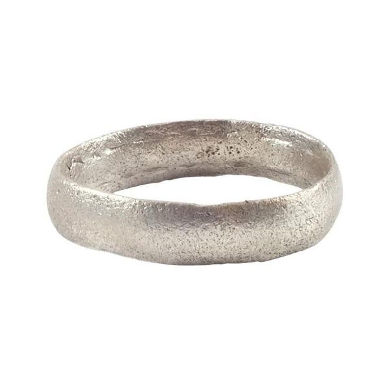 Norse wedding Ring  C.850-1100 A.D Medieval  Viking Wedding Band Jewelry Size 7 34
