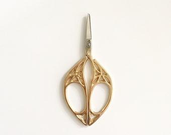 Gold Antique Scissors Embroidery Scissors