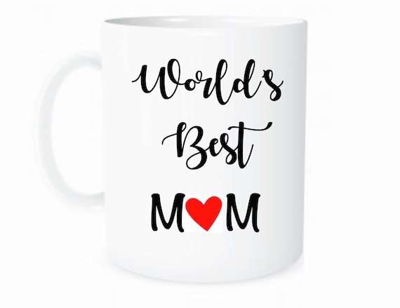 Worlds Best Mom Coffee Mug Personalized Gift For Custom Mothers Day Gifts Birthday