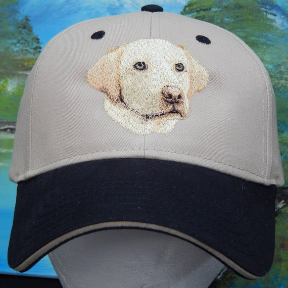 eb761ebee6f Lab yellow embroidered cap multiple colors