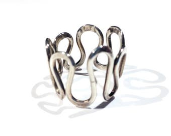 Endless Spiral Ring Sterling Silver