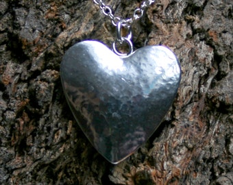 Discrete Sterling silver Heart Day Collar / Slave Necklace. 'Secret Desires' BDSM choker. 'O' ring necklace. Hidden captive ring collar