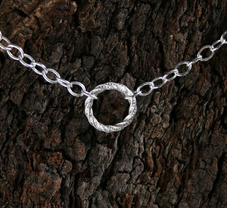 Discrete permanently locking FANCY O Ring Day Collar / Slave image 0