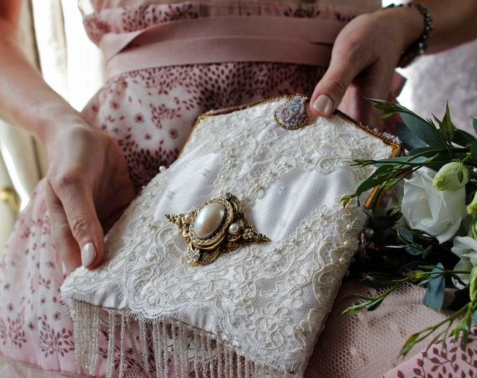 Antique Style Vintage Bridal Bag