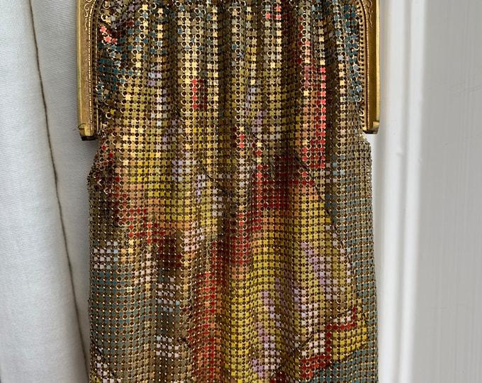 Antique gold mandalian purse
