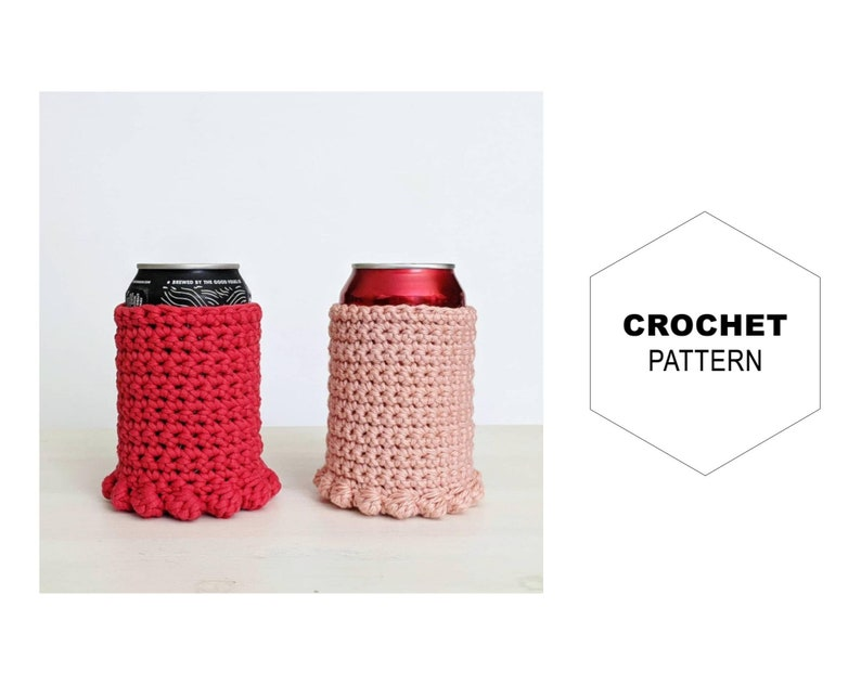 Can Nest Cozy PatternSlim Can CozyCrochet Can Cozy image 0