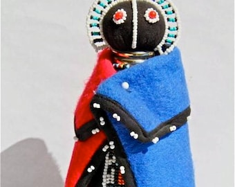 African Beaded Doll -  NDEBELE