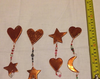 Small Copper hanging magnets