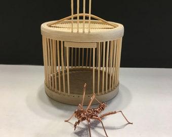 All copper wire cricket