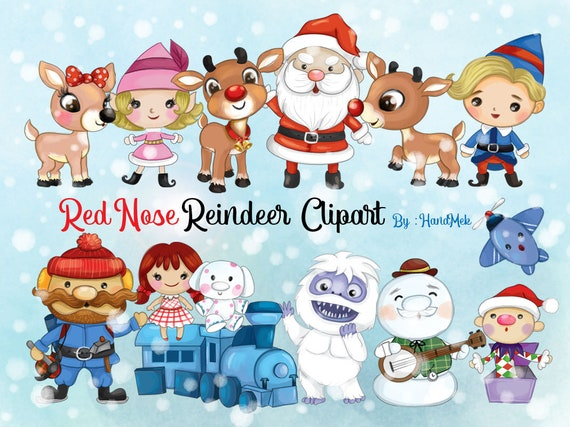 12+ Rudolph The Red Nosed Reindeer Clipart