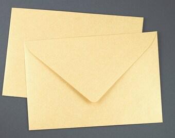 Envelope C6 Gold 5 pieces