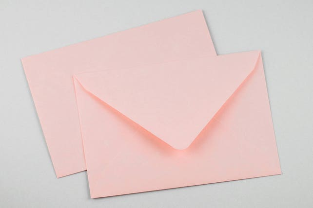 Envelope C6 Pink 10 pieces