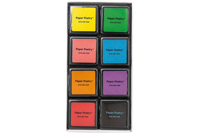 Tuche Stamp Pillow Set Multi 8 Colors