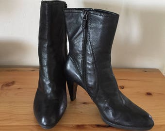 Black Ankle Boots, Joan and David Ankle Boots, High Heel Ankle Boots, Ankle Boots