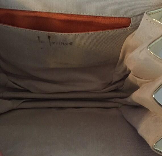Gold Evening Bag, Top Handle Evening Bag - image 8