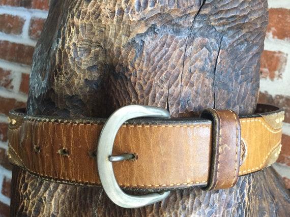 Belts, Hand Made Belts, Hand Sewn Belts, Veach Sad