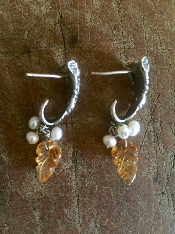 Sterling Earrings, Goddess Earrings, Celestial Ear